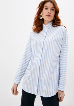 Рубашка Akris Punto. Цвет: голубой