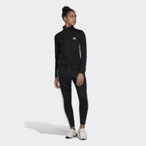 Спортивный костюм Team Sports Sportswear adidas. Цвет: черный