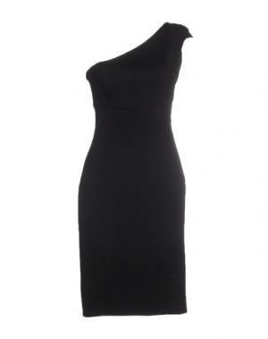 Платье до колена JASMINE DI MILO. Цвет: черный