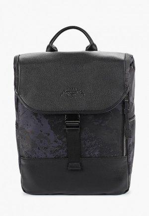 Рюкзак Franco Frego. Цвет: черный