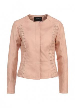 Куртка кожаная Baon. Цвет: розовый