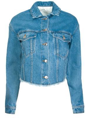 Джинсовая куртка Alexander Terekhov. Цвет: синий