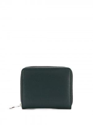 Компактный кошелек AMI Paris. Цвет: зеленый