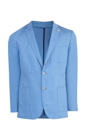 Пиджак MICHAEL KORS. Цвет: голубой