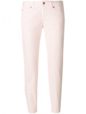 Укороченные джинсы Aspesi. Цвет: розовый