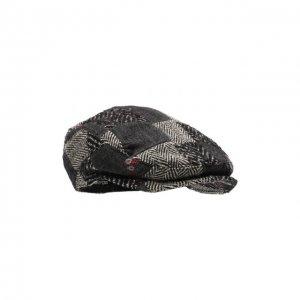 Кепи из шерсти и хлопка Dolce & Gabbana. Цвет: серый