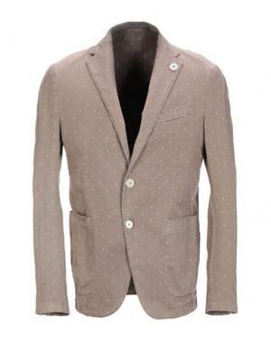 Пиджак FRADI. Цвет: светло-коричневый