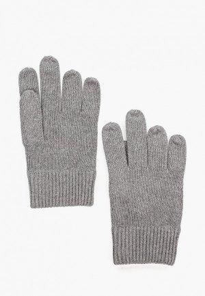 Перчатки Calvin Klein. Цвет: серый