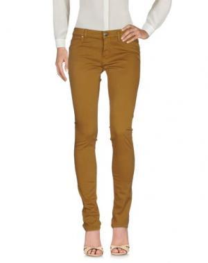 Повседневные брюки FREESOUL. Цвет: песочный