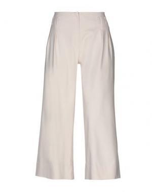 Повседневные брюки LORELLA SIGNORINO. Цвет: слоновая кость