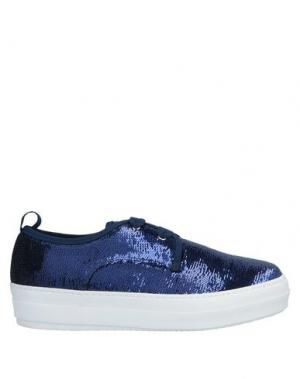 Низкие кеды и кроссовки ATOS LOMBARDINI. Цвет: темно-синий