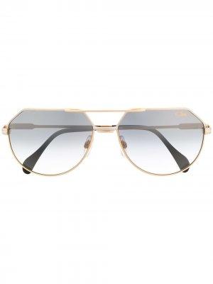 Солнцезащитные очки Legends 724/3 Cazal. Цвет: золотистый
