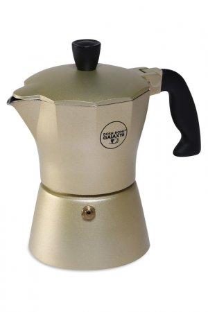 Кофеварка 3 чашки DOSH I HOME. Цвет: золотой