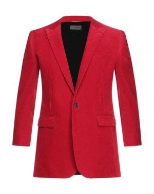Пиджак SAINT LAURENT. Цвет: красный
