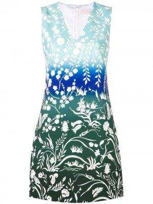 Floral print dress Peter Pilotto. Цвет: синий