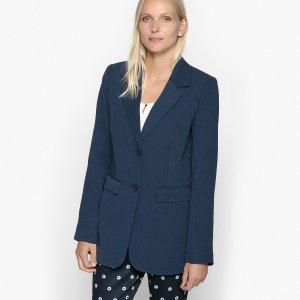 Пиджак-блейзер La Redoute. Цвет: синий