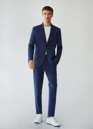 Костюмный пиджак Superslim fit - Paulo Mango. Цвет: чернильный