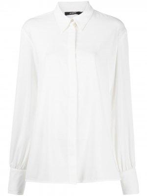 Рубашка с длинными рукавами Amen. Цвет: белый
