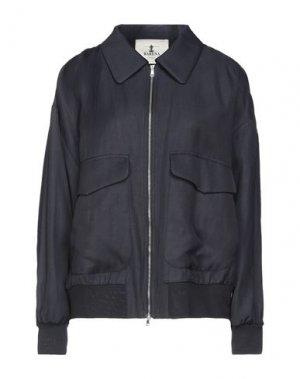 Куртка BARENA. Цвет: темно-синий