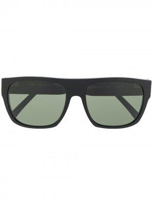 Солнцезащитные очки Tripoli в квадратной оправе L.G.R. Цвет: черный