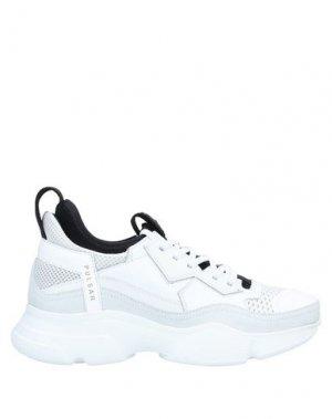 Низкие кеды и кроссовки BRUNO BORDESE. Цвет: белый