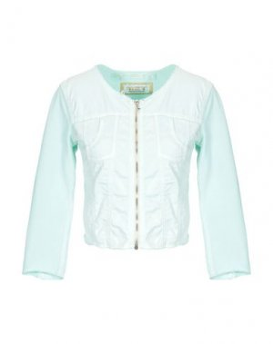 Куртка MET JEANS. Цвет: светло-зеленый