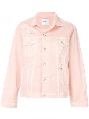 Рваная джинсовая куртка Dondup