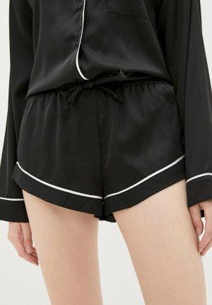 Шорты домашние Juicy Couture PIA. Цвет: черный