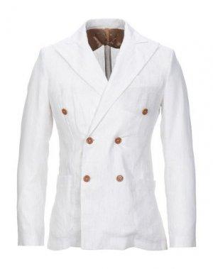 Пиджак 26.7 TWENTYSIXSEVEN. Цвет: слоновая кость
