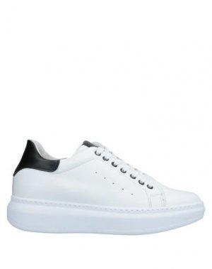 Низкие кеды и кроссовки CAFèNOIR. Цвет: белый
