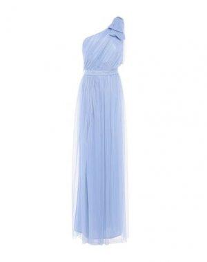 Длинное платье RINASCIMENTO. Цвет: небесно-голубой