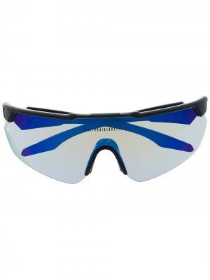 Солнцезащитные очки с логотипом Billionaire Boys Club. Цвет: черный