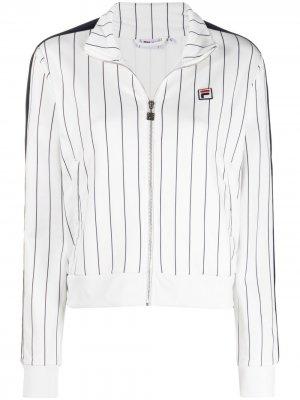 Спортивная куртка Hala AOP Fila. Цвет: белый