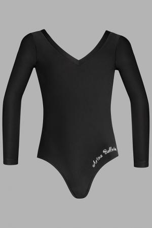 Купальник Arina Ballerina. Цвет: черный