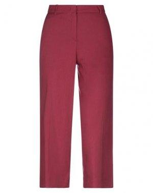 Повседневные брюки CARACTÈRE. Цвет: пурпурный