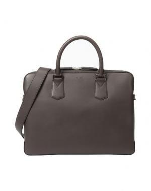 Деловые сумки LANCEL. Цвет: темно-коричневый
