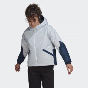 Утепленная куртка Back to Sport Performance adidas. Цвет: белый