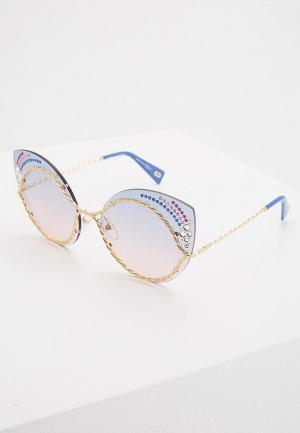 Очки солнцезащитные Marc Jacobs 161/S/STR BR0. Цвет: золотой