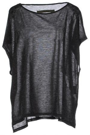 Блуза Enza Costa. Цвет: серый