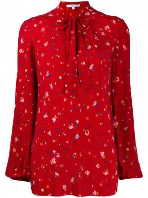 Блузка Evadne с цветочным принтом Derek Lam 10 Crosby. Цвет: red red