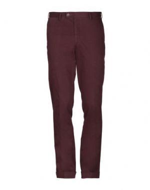 Повседневные брюки DIMENSIONE. Цвет: баклажанный