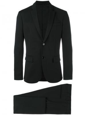 Строгий костюм Paolo Pecora. Цвет: чёрный