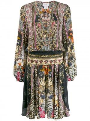 Платье свободного кроя Camilla