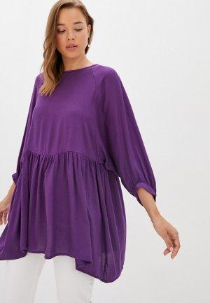 Туника MadaM T. Цвет: фиолетовый