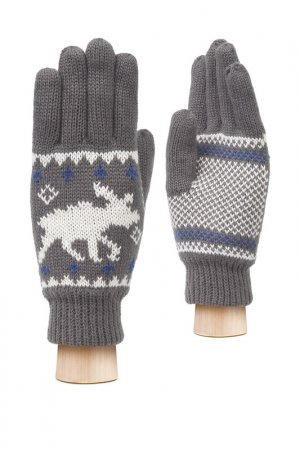 Перчатки MODO. Цвет: темно-серый