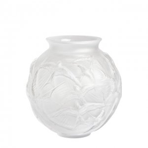 Ваза Hirondelles Lalique. Цвет: прозрачный