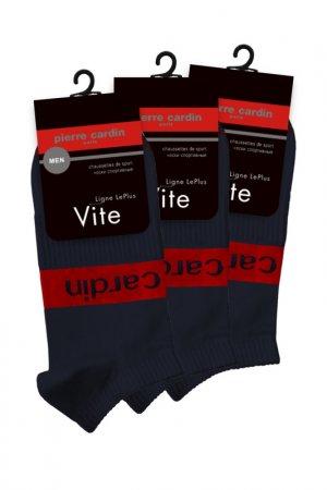 Спортивные короткие носки Pierre Cardin. Цвет: синий