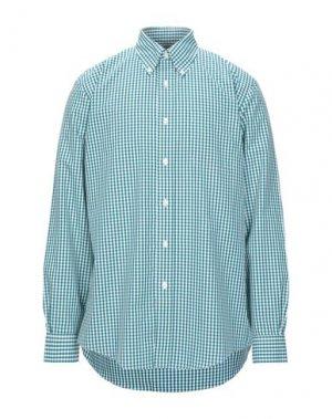 Pубашка BROOKS BROTHERS. Цвет: изумрудно-зеленый
