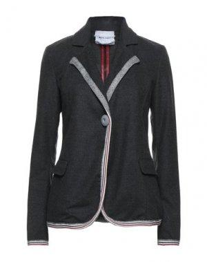 Пиджак BRAND UNIQUE. Цвет: свинцово-серый