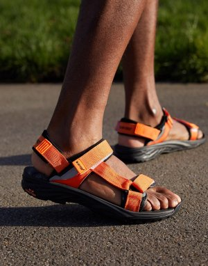 Оранжевые походные сандалии Ula Raft-Оранжевый цвет Hi-Tec